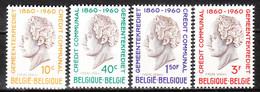 1159/62**  Crédit Communal De Belgique - MNH** - LOOK!!!! - Unused Stamps