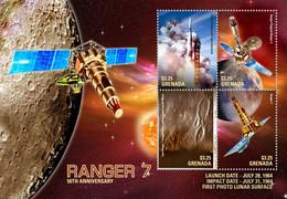 Grenada  2017 Space  RANGER 7 - Grenada (1974-...)