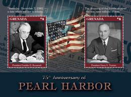 Grenada 2016 World War II , Pearl Harbor ,Franklin Roosevelt , Harry Truman - Grenada (1974-...)