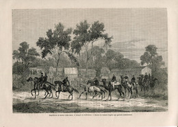 1862 Print Burke And Wills Expedition Australia Melbourne - Prints & Engravings