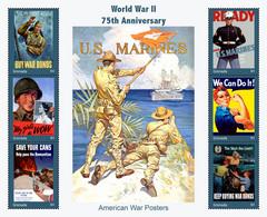Grenada  2017 World War II  ,  American  War Posters - Grenada (1974-...)