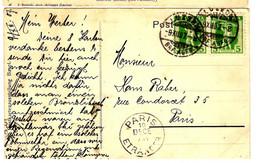 49953 - De LUZERN Pour PARIS - Cartas