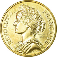France, Médaille, Bicentenaire De La Prise De La Bastille, 1989, FDC - Autres
