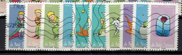 NEW 2021 10 Timbres - SAINT EXUPERY Oblitérés - Used Stamps