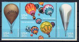 ETATS-Unis -1983, Aérostation, Bicentenaire Des Premières Ascensiond ... YT 1464-7, Neuf **, Lot 42199 - Nuevos