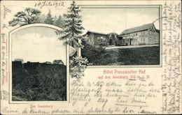 CPA Brotterode Trusetal In Thüringen, Inselsberg, Hotel Preussischer Hof - Other