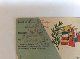 Militaire.militaria.regiment.correspondance Militaire Le Mans-Aix En Provence - 1914-18