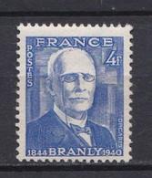 N° 599 Centenaire De Na Naissance Du Physicien Edouard Branly: Beau Timbre Neuf Impeccable Sans Charnière - Unused Stamps