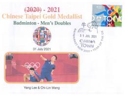 (WW 5 A) 2020 Tokyo Summer Olympic Games - Chinese Taipei Gold Medal - 31-07-2021 - Badmington Men's Doubles - Verano 2020 : Tokio