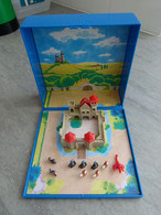 Micro Playmobil Magnet. Set Château Médiéval / Castle / Castello / Schloss. Collector Figurines Aimantées Chevaliers... - Playmobil
