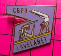 313e Pin's Pins / Beau Et Rare / THEME : SPORTS / GYMNASTIQUE CLUB CGPO LAVELANET - Ginnastica