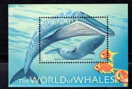 Grenada  2001  Marine Life  Blue Whales - Grenada (1974-...)