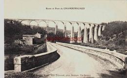 CPA VIADUC DE CHAMBORIGAUD - GARD - LA ROUTE - Ohne Zuordnung