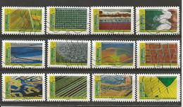 Année 2021 Série Mosaïques De Paysages Réf 1 - 2010-.. Matasellados