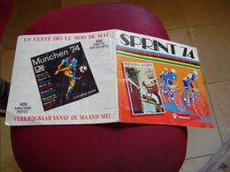 Album Chromos Images Vignettes Panini *** Sprint 74 *** - Sammelbilderalben & Katalogue