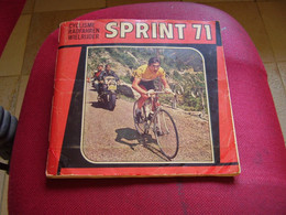 Album Chromos Images Vignettes Panini *** Sprint 71 *** - Sammelbilderalben & Katalogue