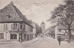 CPA - HAGENAU - HAGUENAU (BAS-RHIN) - RITTERTURM - BOULANGERIE - Haguenau