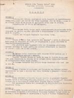 """WW2 RSI FASCISMO I11^BRIGATA NERA """"RODINI"""" COMO - DIARIO COMPAGNIA OPERATIVA VALSASSINA 4 PAGINE - Documenten"""