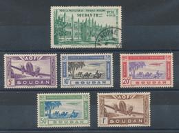 Soudan  Lot De 5 Timbres De Poste Aérienne* Et (*) + N°6 (o) - Unused Stamps