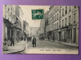 75   PARIS    Rue Erard     Plan Très Animé    Bon état - Distretto: 12