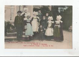 UNE NOCE DE RIEC SUR BELON (FINISTERE) 8792 A TRAVERS LA BRETAGNE TYPES ET COSTUMES ANCIENS 1916 - Autres Communes
