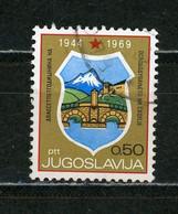 YOUGOSLAVIE - BLASON - N° Yvert 1250 Obli. - Gebraucht