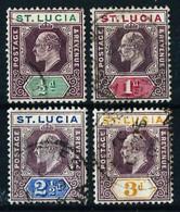 St. Lucía (Británica) Nº 47/50 Usado - Ste Lucie (...-1978)