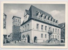 AK 1950er Alter Markt Theater Nicolaikirche Ruine Niedernstraße Bielefeld - Bielefeld