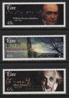 Ireland (51) 2005 UNESCO World Year Of Physics Set. Mint. Hinged. - Non Classificati