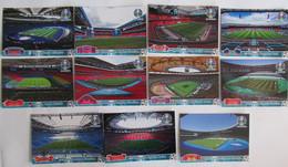 EURO 2020 11 Postcards Stadiums - Calcio