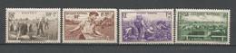 FRANCE ANNEE 1940 N°466 à 469 NEUFS** MNH TB COTE 20,00 € - Nuovi
