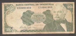 Venezuela - Banconota Circolata Da 20 Bolivares P-63e - 1995 #19 - Venezuela