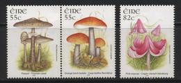 Ireland (55) 2008 Fungi Set. Mint. Hinged. - Non Classificati