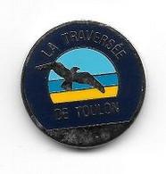 Jeton De Caddie  Ville, LA  TRAVERSEE  DE  TOULON  Verso  D.D.E. Du VAR, Traversée  Souterraine  De  Toulon  ( 83 ) - Einkaufswagen-Chips (EKW)