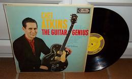CHET ATKINS The Guitar Genius UK RCA CAMDEN CDN 5110 BIEM 1963 LP - Country En Folk