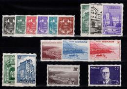 Monaco YV 249 à 264 N** Complete Annee 1943 Cote 11 Euros - Nuovi