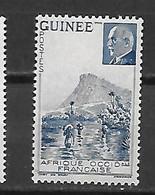 GUINEE PETAIN 177a SANS LA VALEUR LUXE NEUF SANS CHARNIERE - Ongebruikt