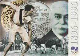 Switzerland Postcard 1996 Century Olympics Posted GA. Tech Sta. USPS 1996 (DD25-53) - Verano 1996: Atlanta