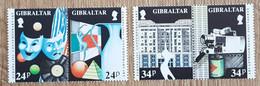 Gibraltar - YT N°663 à 666 - Europa / Art Contemporain - 1993 - Neuf - Gibilterra