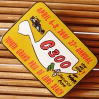 Joli Pin's Racing Toyota GP De Long Beach2001 (MFS), émail Grand Feu, TBQ, Pins Pin. - Rallye