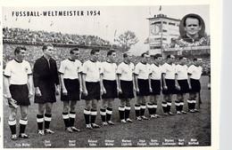 Germany  1954 FIFA World Cup Football In Switzerland - Germany Champions Photo  (DD25-52) - 1954 – Switzerland
