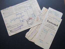 Österreich 1947 Umschlag Fernsprechrechnung Mit Inhalt / Quittungen L2 Fernsprechverwaltungsstelle Urfahr / Feldkirchen - 1945-60 Brieven