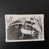 POSTE DE PILOTAGE  DU YACK 3 TERRAIN DU BOURGET LE 14/05/1946  PHOTO 9/6 CM - Guerra, Militares
