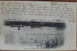 Une Hutte Aux Marais De Palluel.chasse Au Canard - Otros Municipios