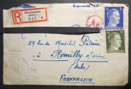 10 - Romilly Sur Seine - Lettre Recommandée - Oberhausen - Romilly Sur Seine - 1943 - - Otros