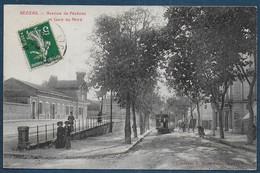 BEZIERS - Avenue De Pézénas Et Gare Du Nord - Beziers