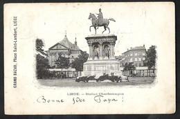 LIÈGE Statue Charlemagne Sent 1900 From Namur (station) - Liege