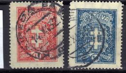 Litauen / Lietuva 1929 Mi 289-290, Gestempelt [020821VI] - Lithuania