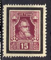 Litauen / Lietuva 1927 Mi 274 * Zähnung 11 1/4 [020821VI] - Lithuania