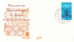 Germany Cover Wiesbaden 1972 Internationale Sportartikelmesse Im Zeichen Der Olympischen Spiele  (DD25-51) - Covers & Documents